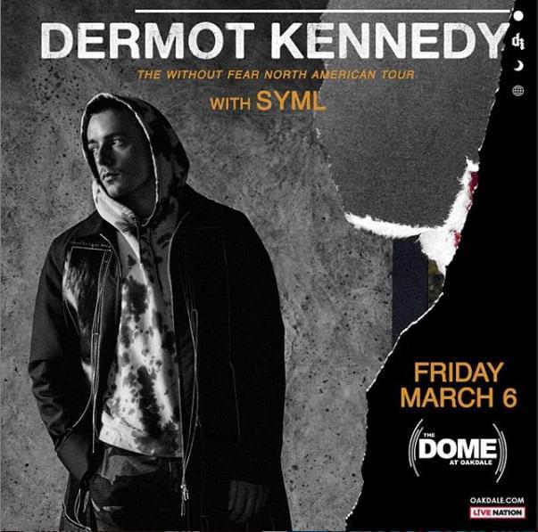 Enter to win tickets to Dermot Kennedy