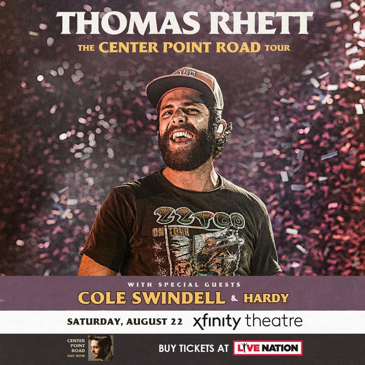 Enter to win tickets to Thomas Rhett