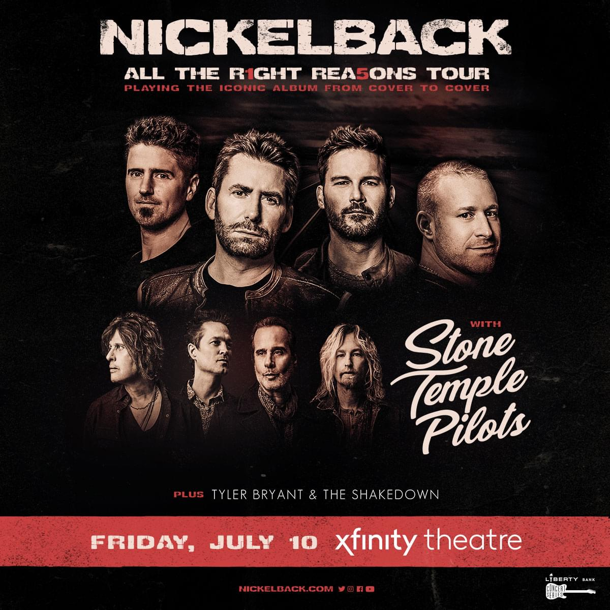 Enter to win tickets to Nickelback
