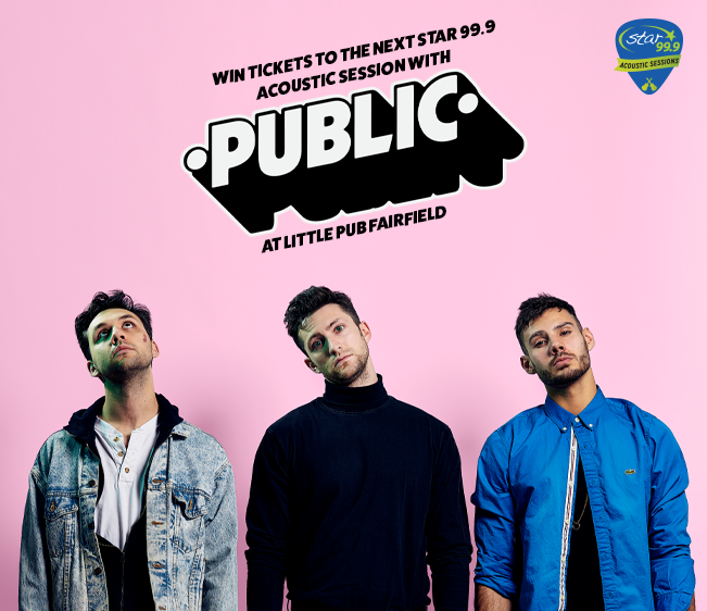 Win tickets to Star 99.9 Acoustic Session with PUBLIC