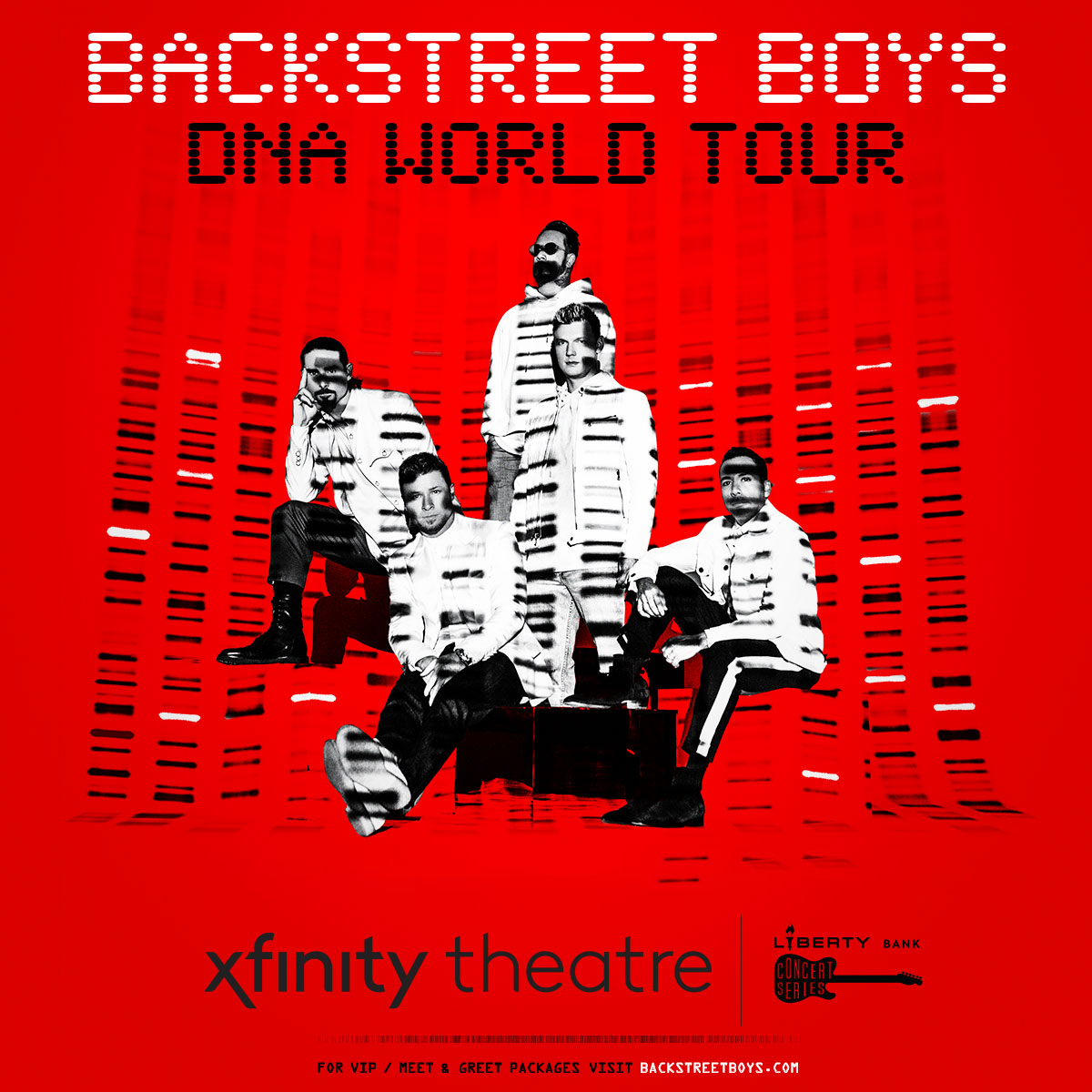 Enter to win Backstreet Boys Tickets