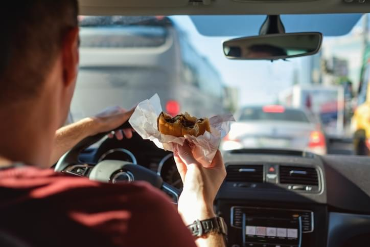 I Should Have Known That! Friday February 7th: Driving While Hungry