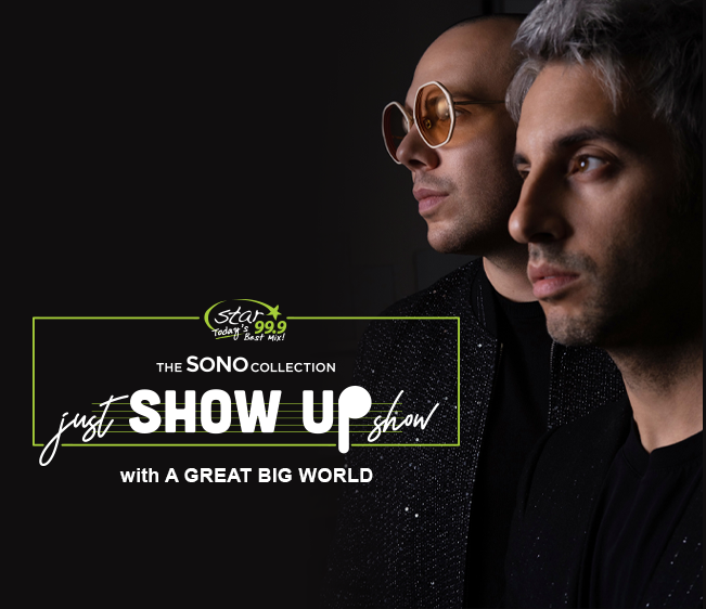 Just Show Up Show with A Great Big World