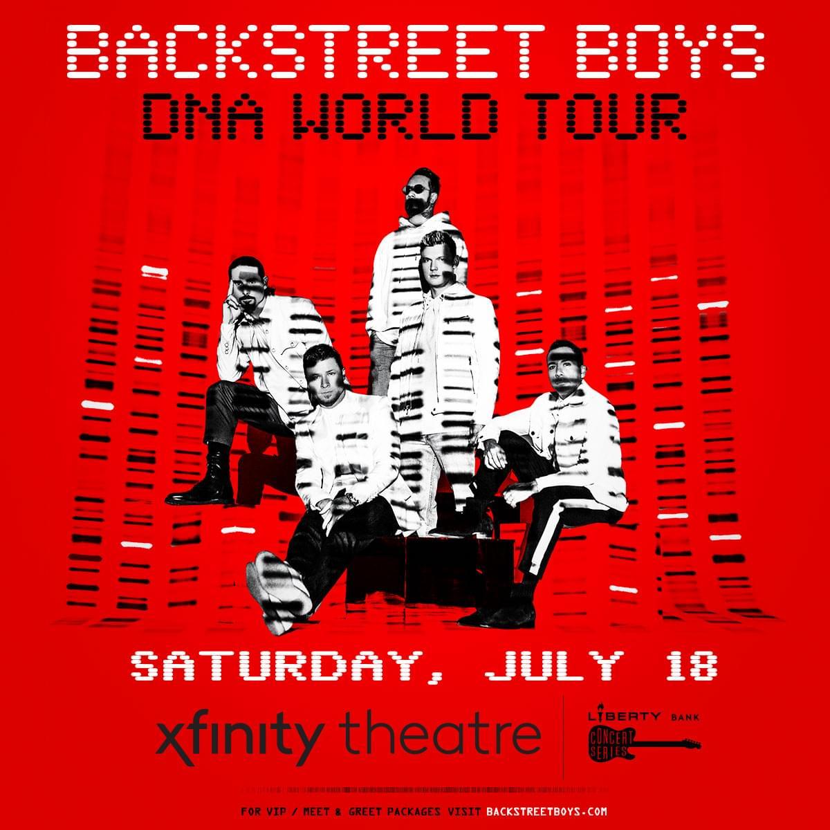Win tickets to Backstreet Boys