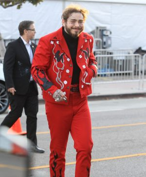 Post Malone Sighted in Los Angeles on December 1, 2018