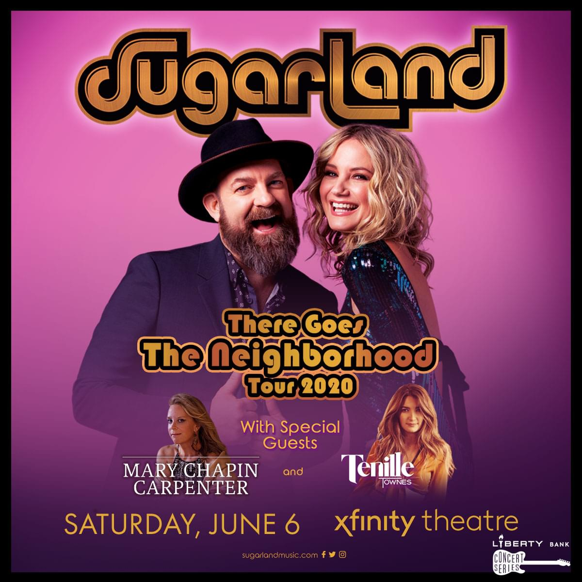 Win tickets to Sugarland