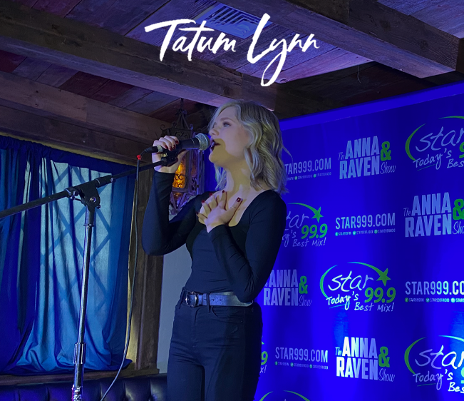 Star 99.9 Acoustic Session with Tatum Lynn