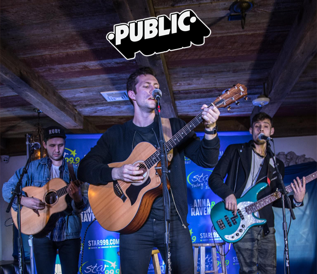 Star 99.9 Acoustic Session with Public