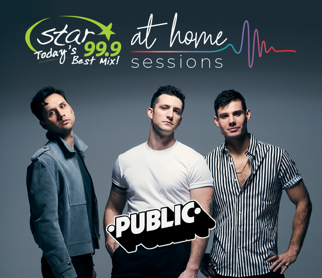 Star 99.9 At Home Session with Public the Band