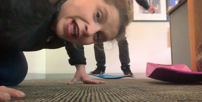 60 Seconds Behind the Scenes: Fit Board Fun