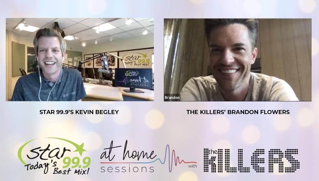 Star 99.9 At Home Session with Brandon Flowers of The Killers