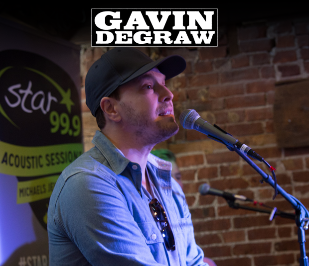 Star Flashback: Gavin Degraw 6/24/17