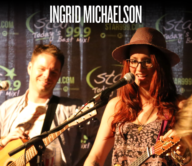 Throwback: Star 99.9 Acoustic Session with Ingrid Michaelson