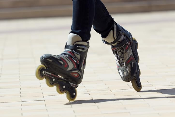 Tell Me Something Good: Rollerblading Halfway Across The Country For Charity