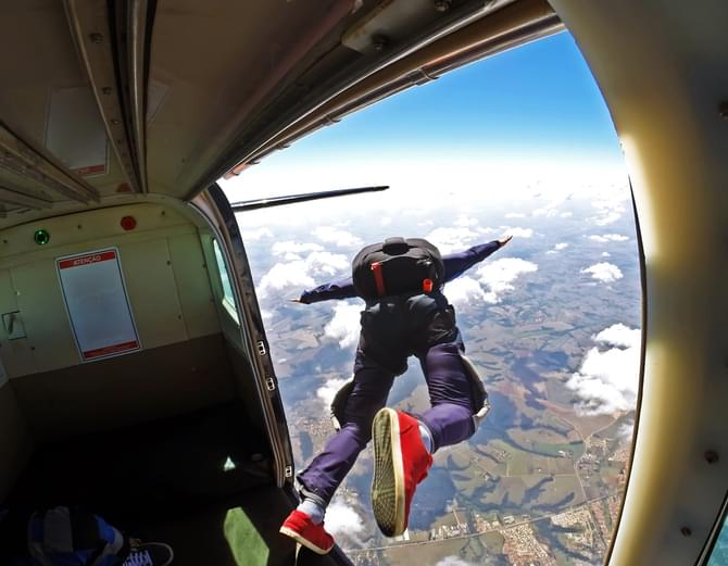 Tell Me Something Good: Skydiving Lost & Found