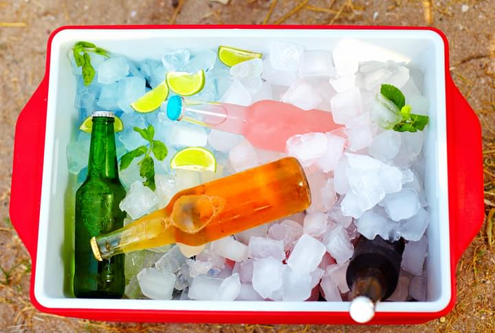 Tell Me Something Good: Cooler Full of Cold Drinks To Thank Delivery Drivers