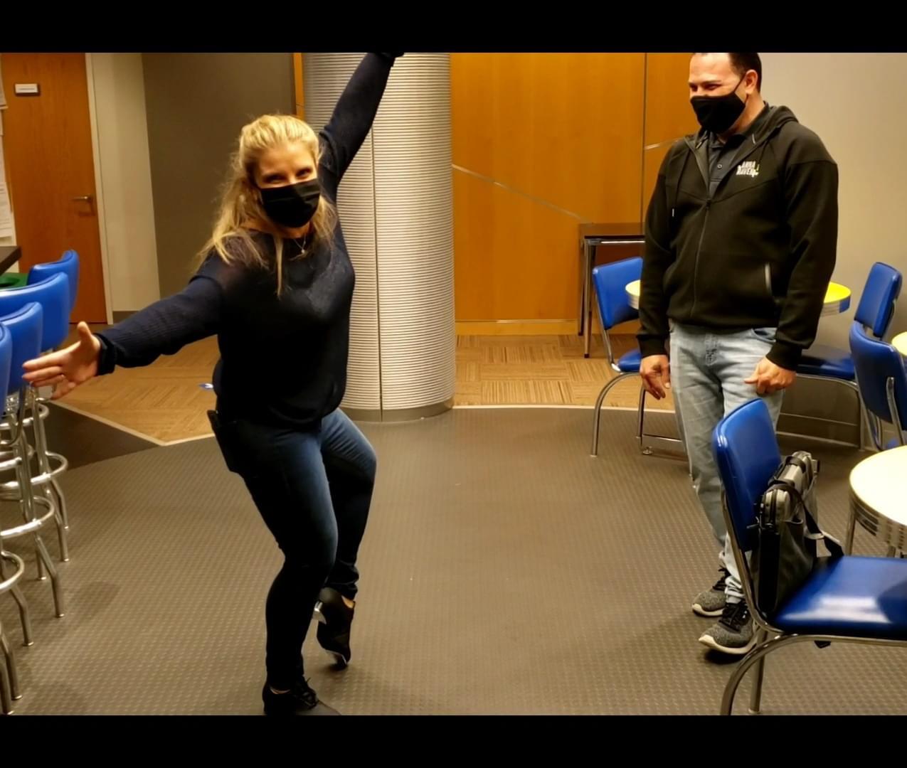 Teaching Raven To Tap Dance
