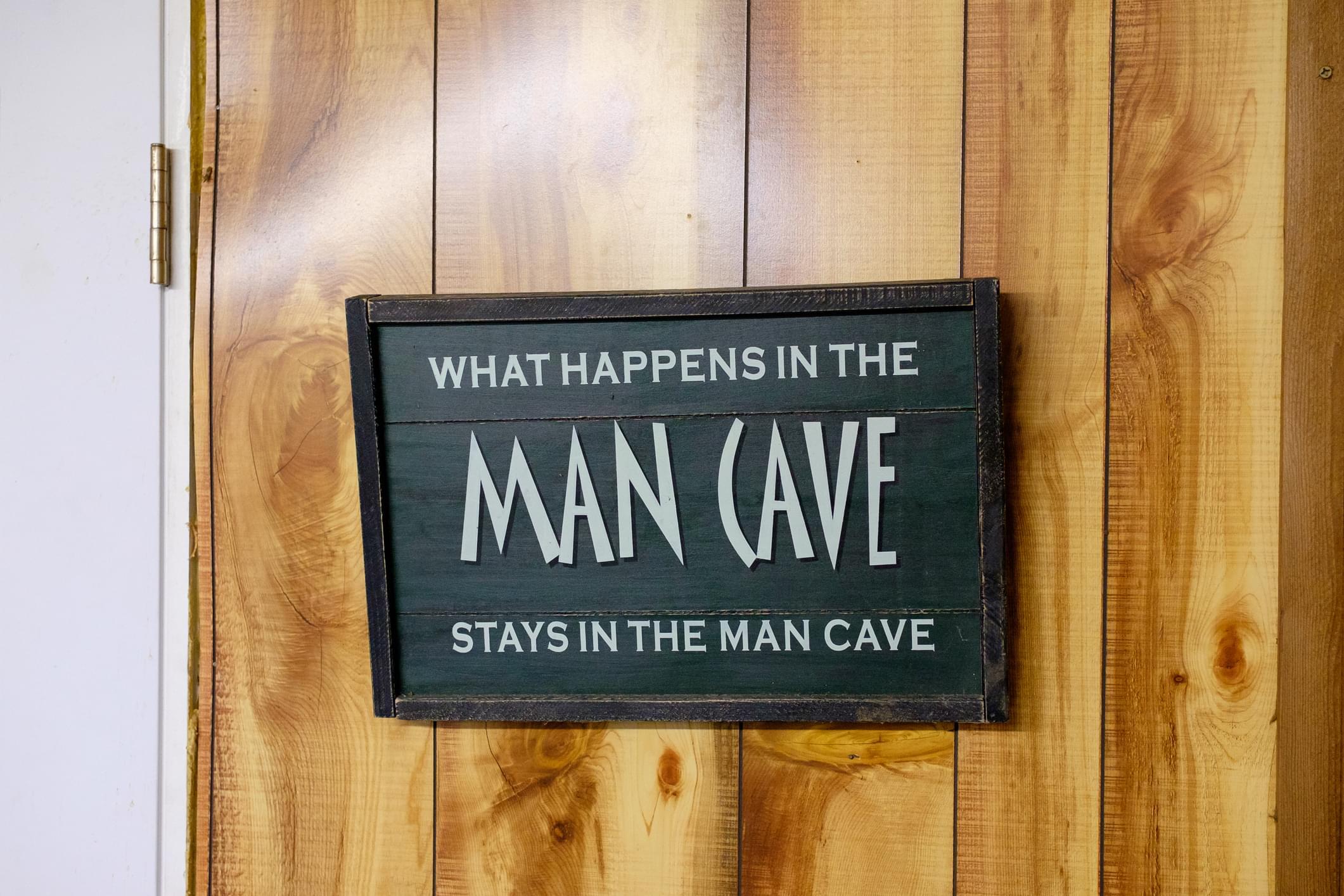 Underground Man Cave