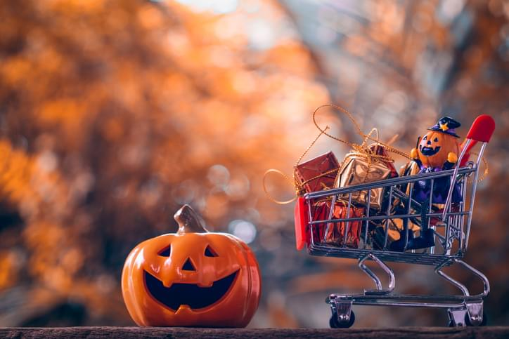 I SHOULD HAVE KNOWN THAT! Monday October 5th: Spooky Shopping Spree