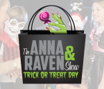 Anna & Raven Trick or Treat Day