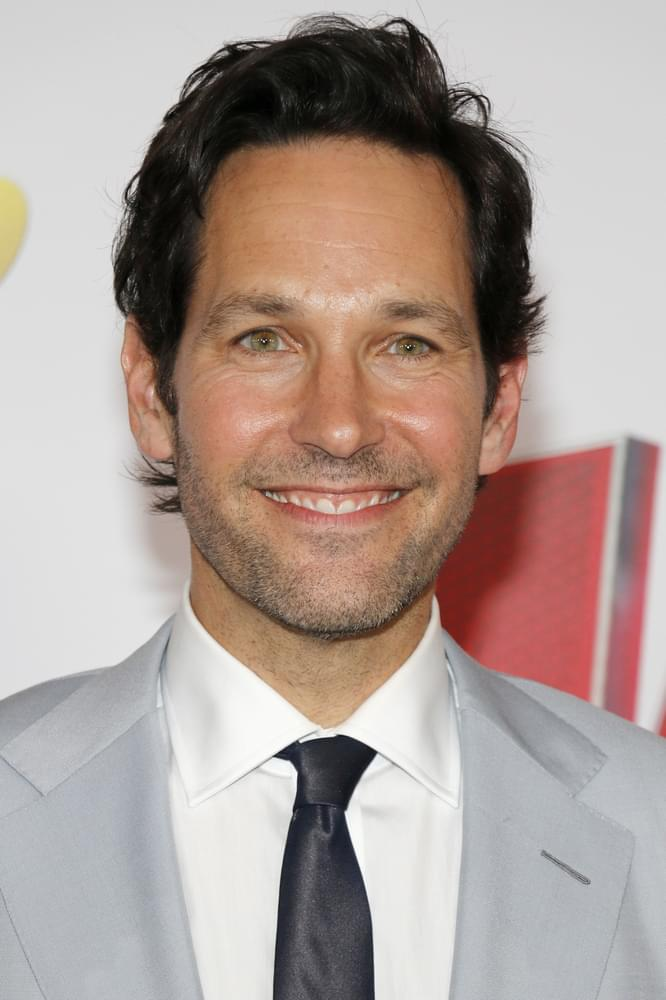 TELL ME SOMETHING GOOD: Paul Rudd Does His Part To Put Smiles On Faces Of Voters