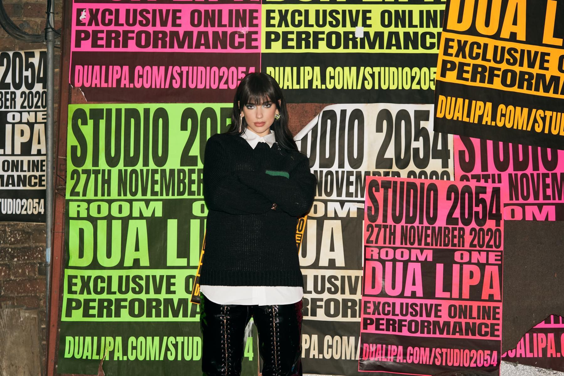 Win tickets to Dua Lipa'sSTUDIO 2054 Livestream