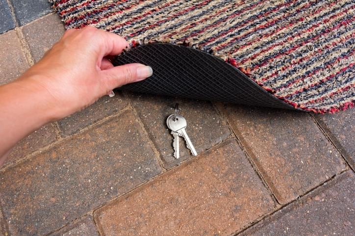 TELL ME SOMETHING GOOD: The Crazy Reason This Guy Leaves A Key Under His Welcome Mat