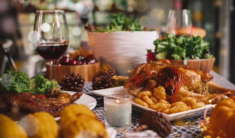 I SHOULD HAVE KNOWN THAT! Monday November 23: Thanksgiving Meal Substitute