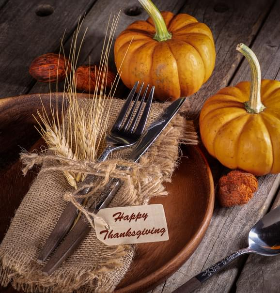 I SHOULD HAVE KNOWN THAT! Wednesday November 25: Finger Food Thanksgiving