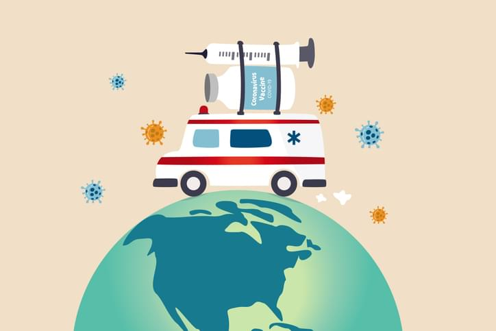 TELL ME SOMETHING GOOD: First Trucks Carrying COVID-19 Vaccine Have Hit The Road