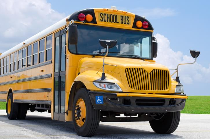 TELL ME SOMETHING GOOD: 6th Grade Teacher Buys Bus To Take Kids On Virtual Field Trips During Remote Learning