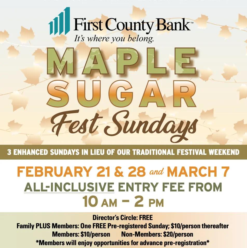 Maple Sugar Sunday at SM&NC