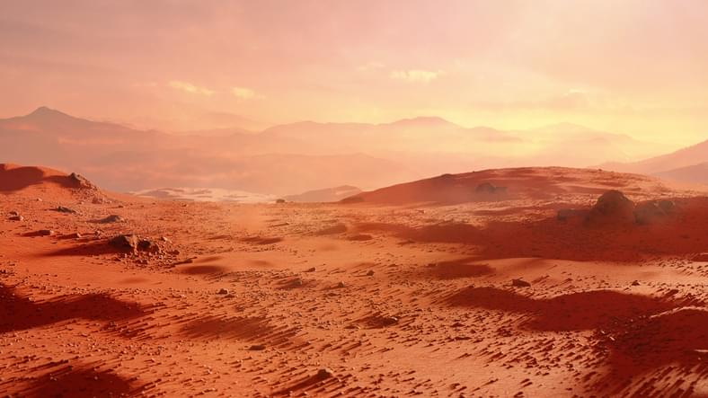 MUNDANE MYSTERIES: Why is Mars red?