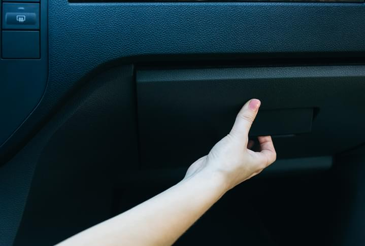 I SHOULD HAVE KNOWN THAT! 1 in 5 people keep one of these in their glove compartment. What is it?