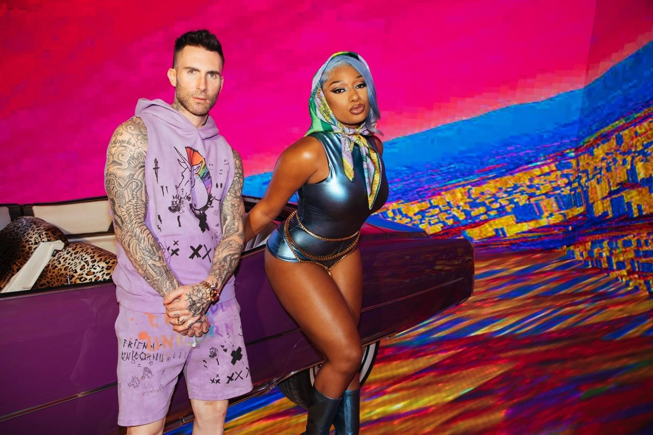 """LISTEN: Maroon 5 Release New Song With Megan Thee Stallion """"Beautiful Mistakes"""""""