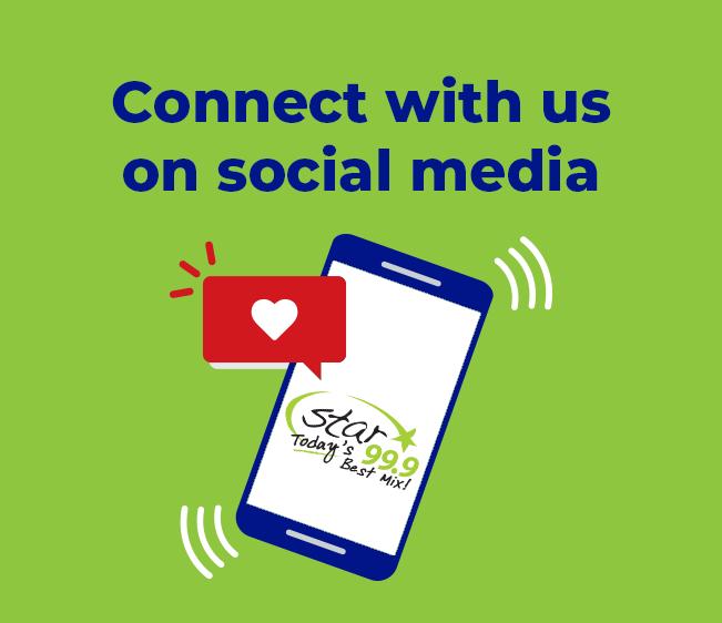 Follow us on social
