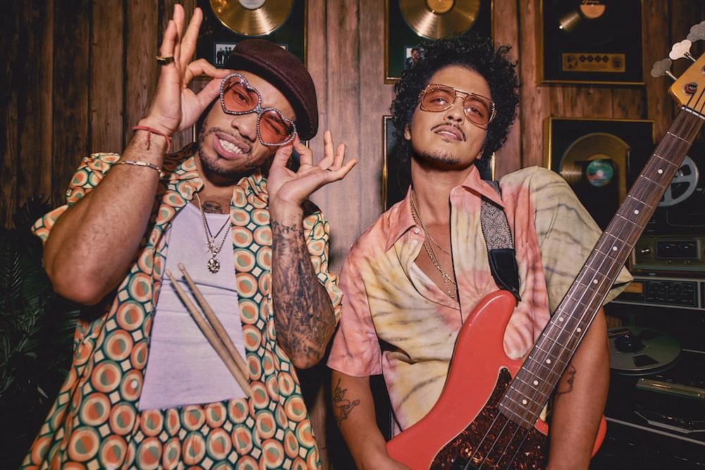 "LISTEN: Bruno Mars New Song With Anderson .Paak & Silk Sonic ""Leave The Door Open"""