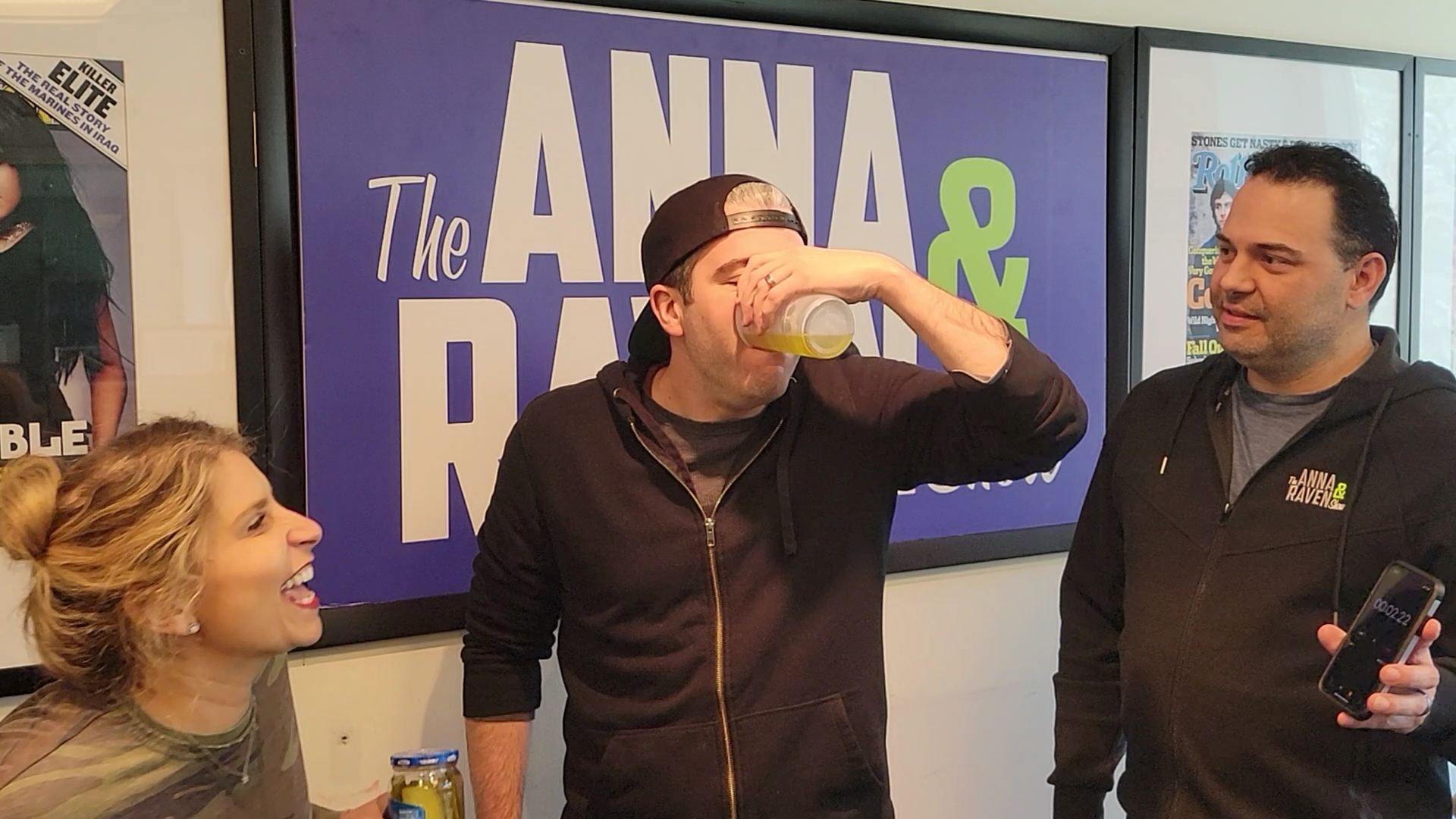 Producer Jon & The Pickle Juice Chug
