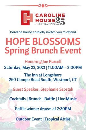 Hope Blossoms Spring Brunch Event Graphic (4x6)