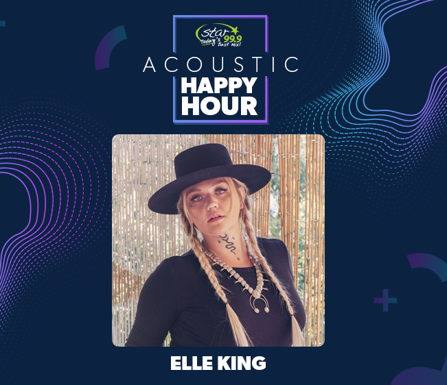 Star 99.9 Acoustic Happy Hour: Elle King