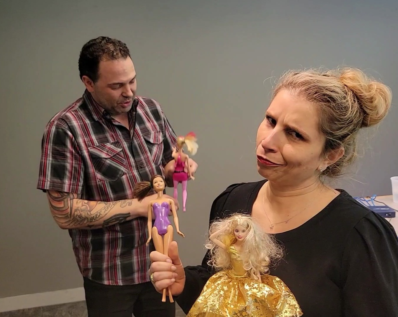 Getting Rid of All Those Old Barbie Dolls?