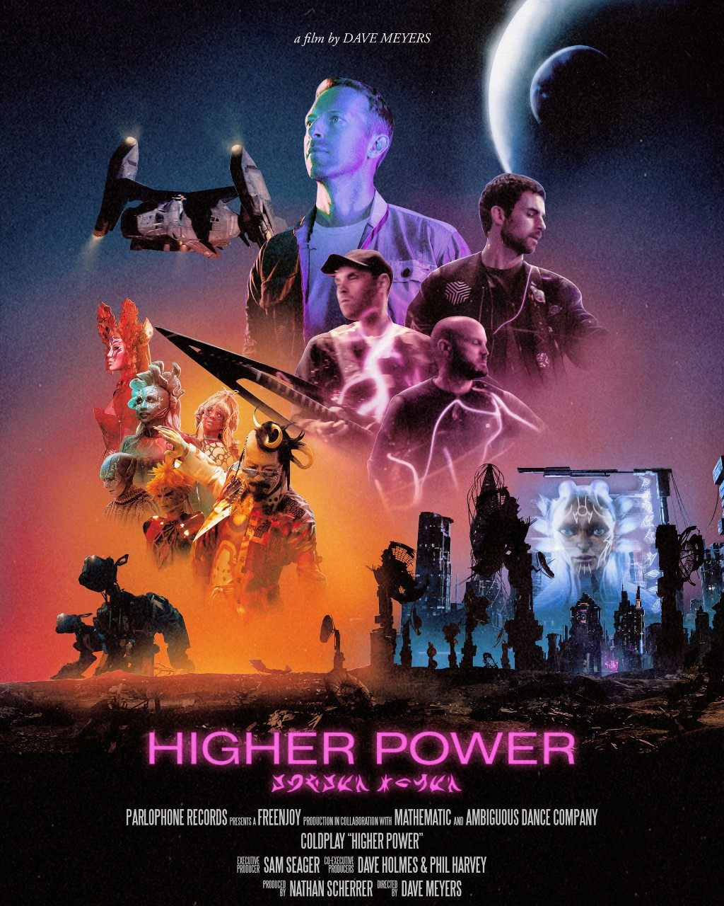 Watch Coldplay's Crazy New Video For 'Higher Power'