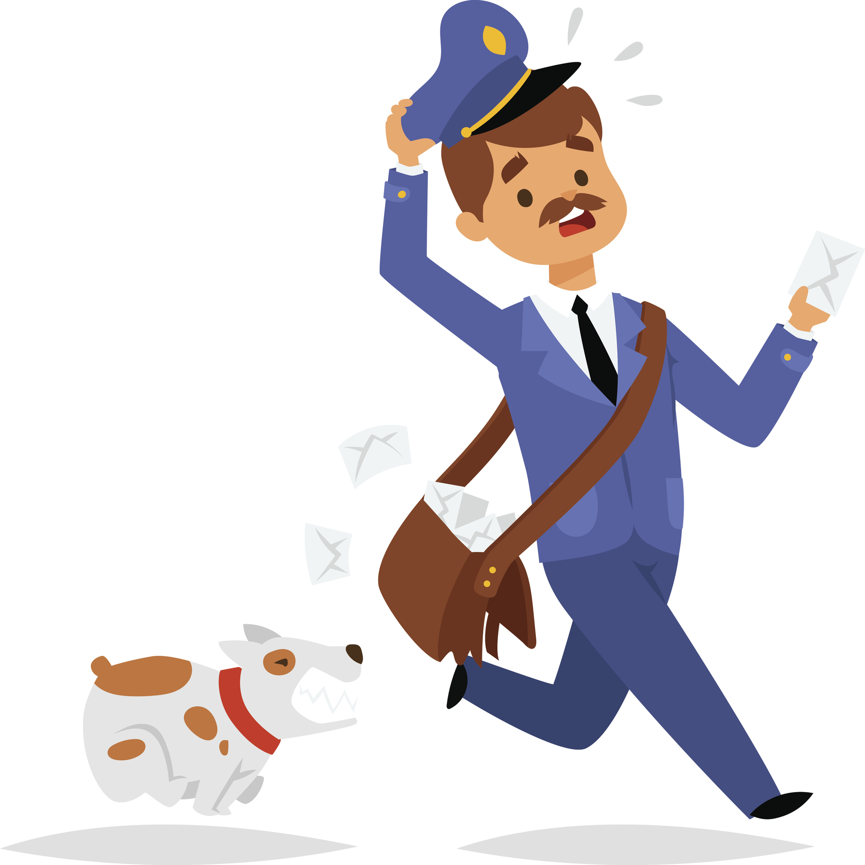 Anna & Raven: Dogs VS Mail Carrier's