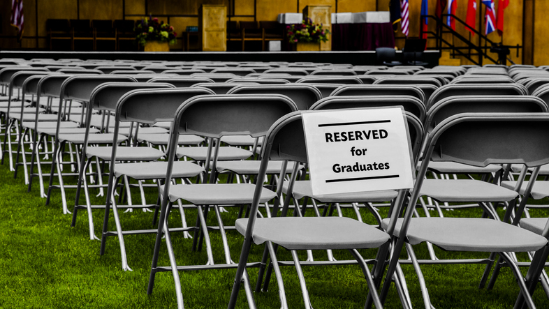 Seating Reserved For Graduates