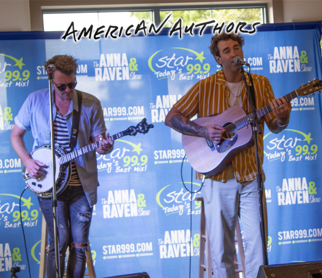 Star 99.9 Acoustic Session with American Authors