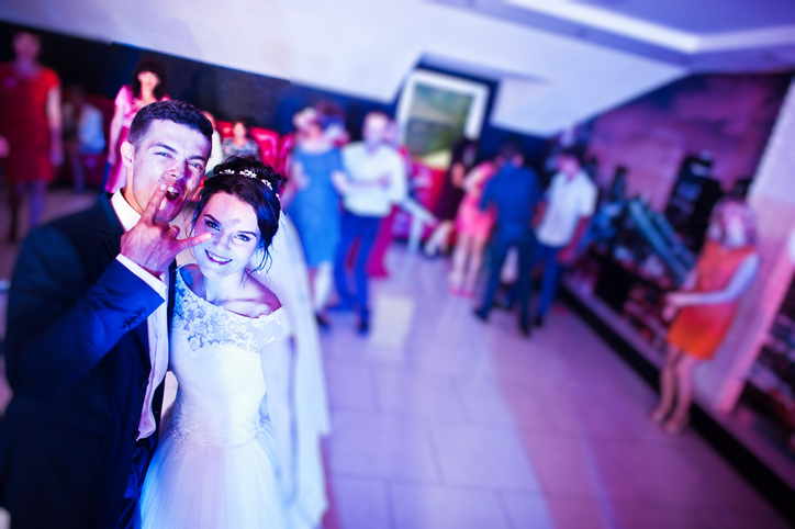 I SHOULD HAVE KNOWN THAT! 33% of wedding DJ's say that they have witnessed this happen on the dance floor