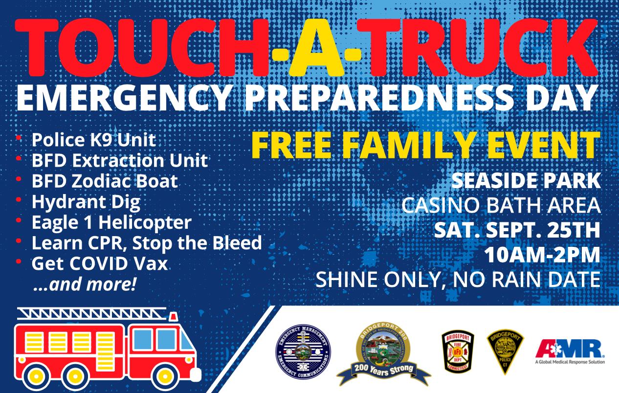Touch A Truck – Emergency Preparedness Day