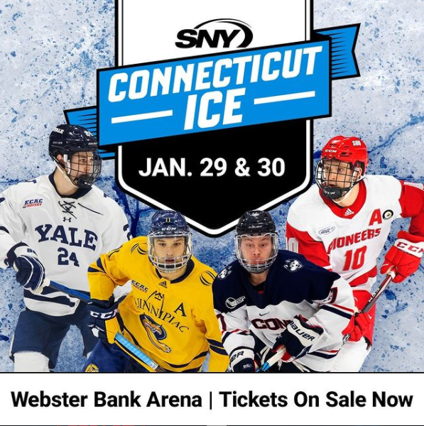 Win tickets to Connecticut Ice Collegiate Hockey Tournament