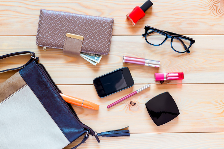 I SHOULD HAVE KNOWN THAT! : This item is the germiest thing in a woman's purse?