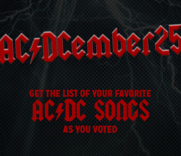 AC/DCember 25